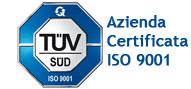 Azienda Certificata ISO 9001:2015