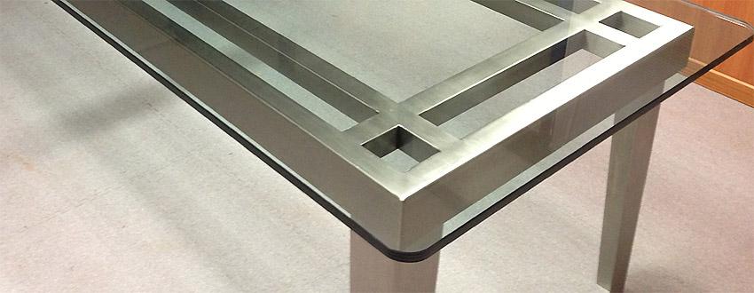 Acciaio inox tavolino