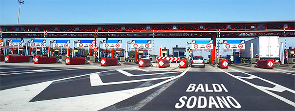 Cabine autostradali Baldi Sodano